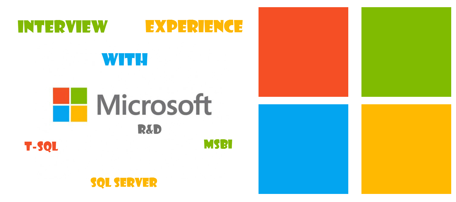 An Interview Experience with Microsoft