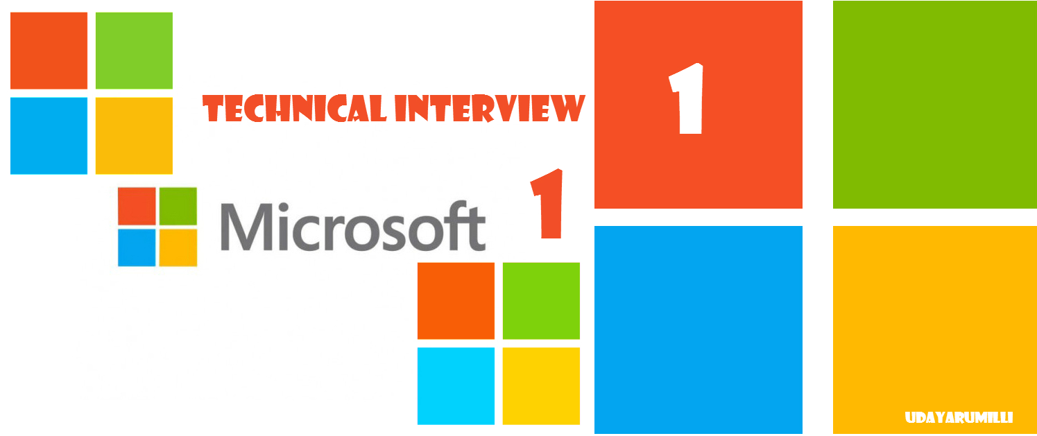 an interview experience microsoft technical interview 1 interview experience microsoft r d 2
