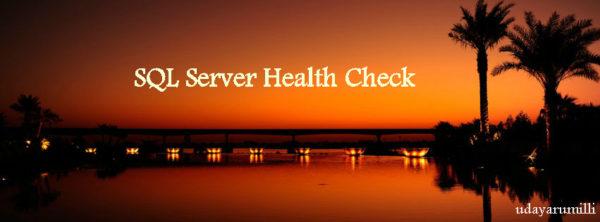 sql-server-health-check