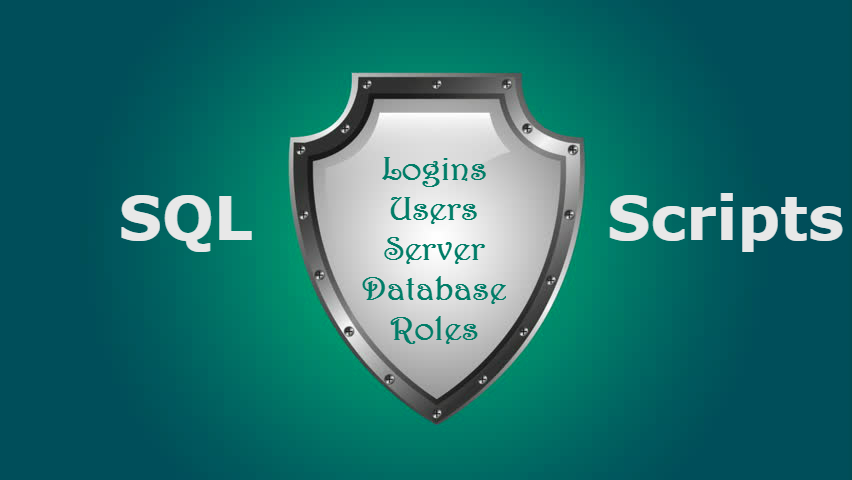 How to Script Login and User Permissions in SQL Server