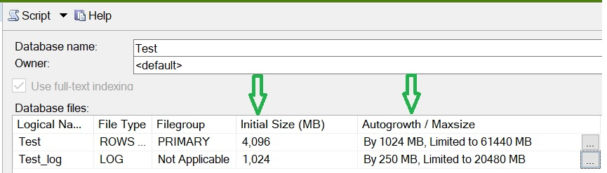 Auto Growth Setting Performance Impact in SQL Server