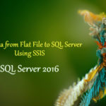 Designing a simple SSIS package using SQL Server 2016