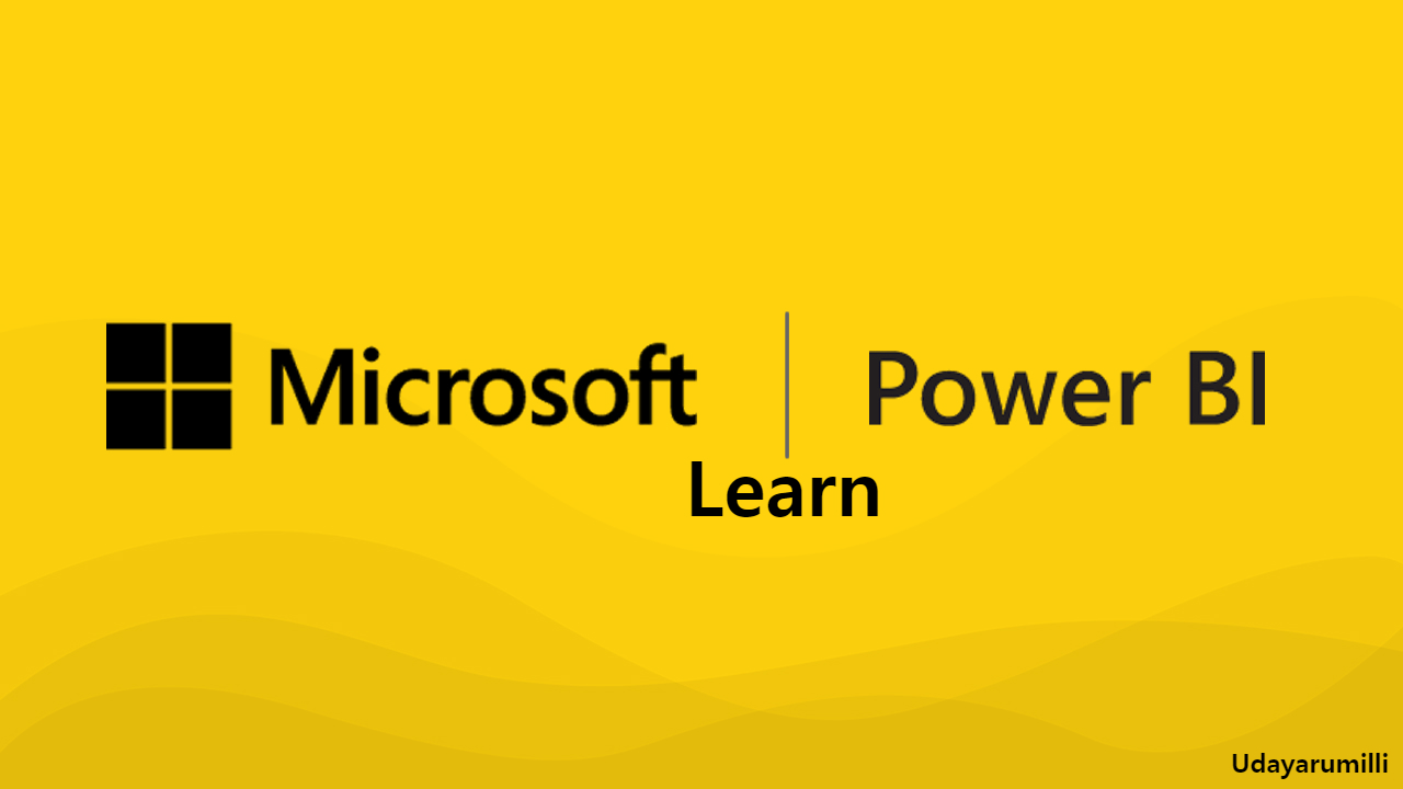 Learn Microsoft Power BI