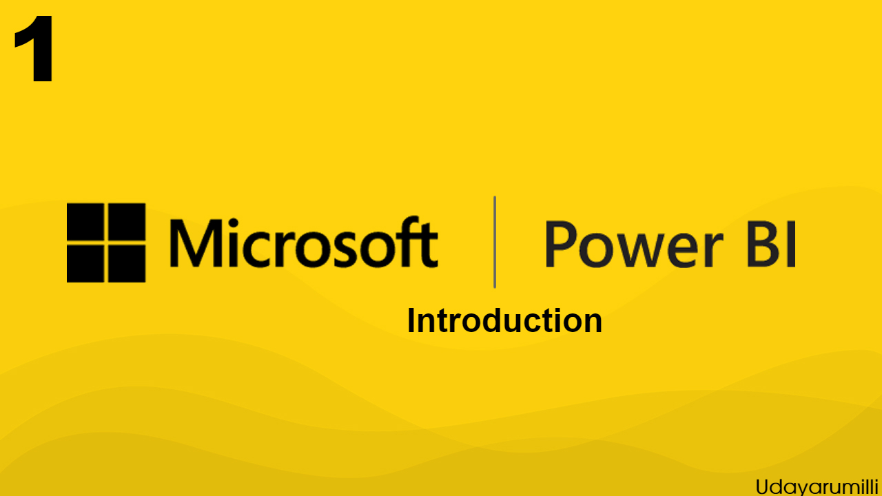Learning Microsoft Power BI Lesson 1