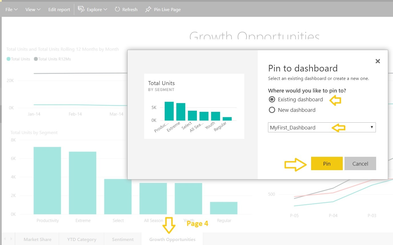 Learning Microsoft Power BI Lesson 4